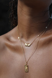 Lovers Swan Necklace