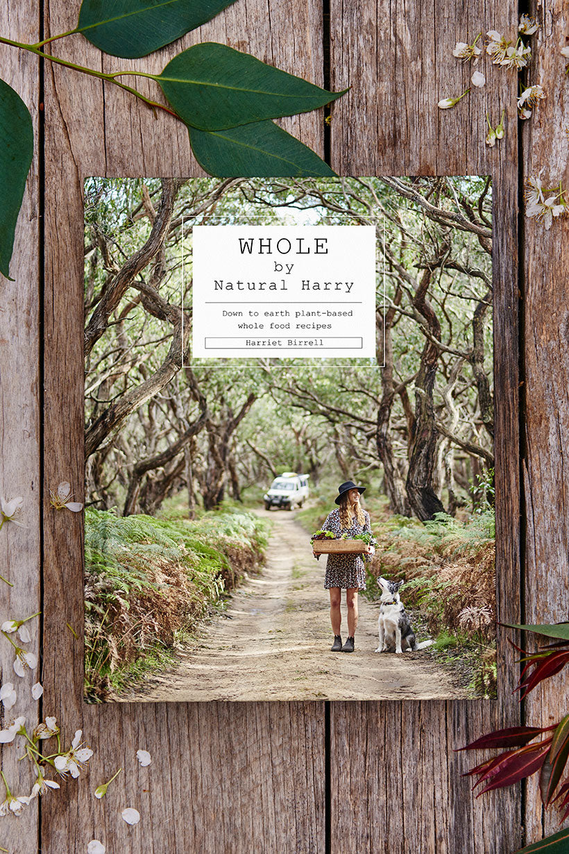 WHOLE by Natural Harry Book