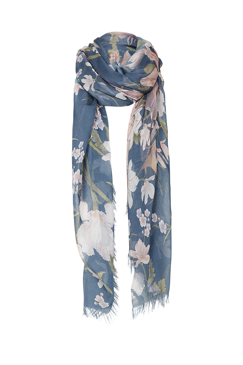 Waterfall Travel Scarf #rollover