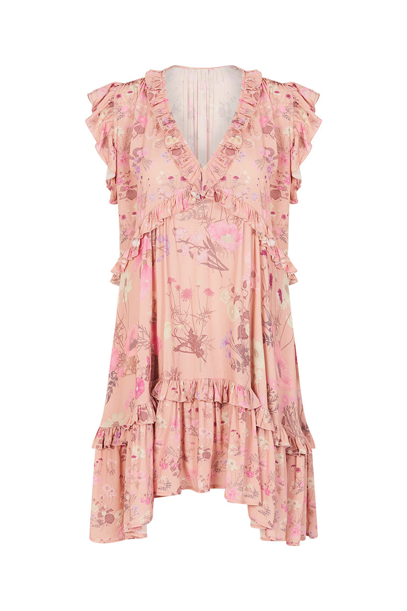 Spell Wild Bloom Mini Dress #rollover