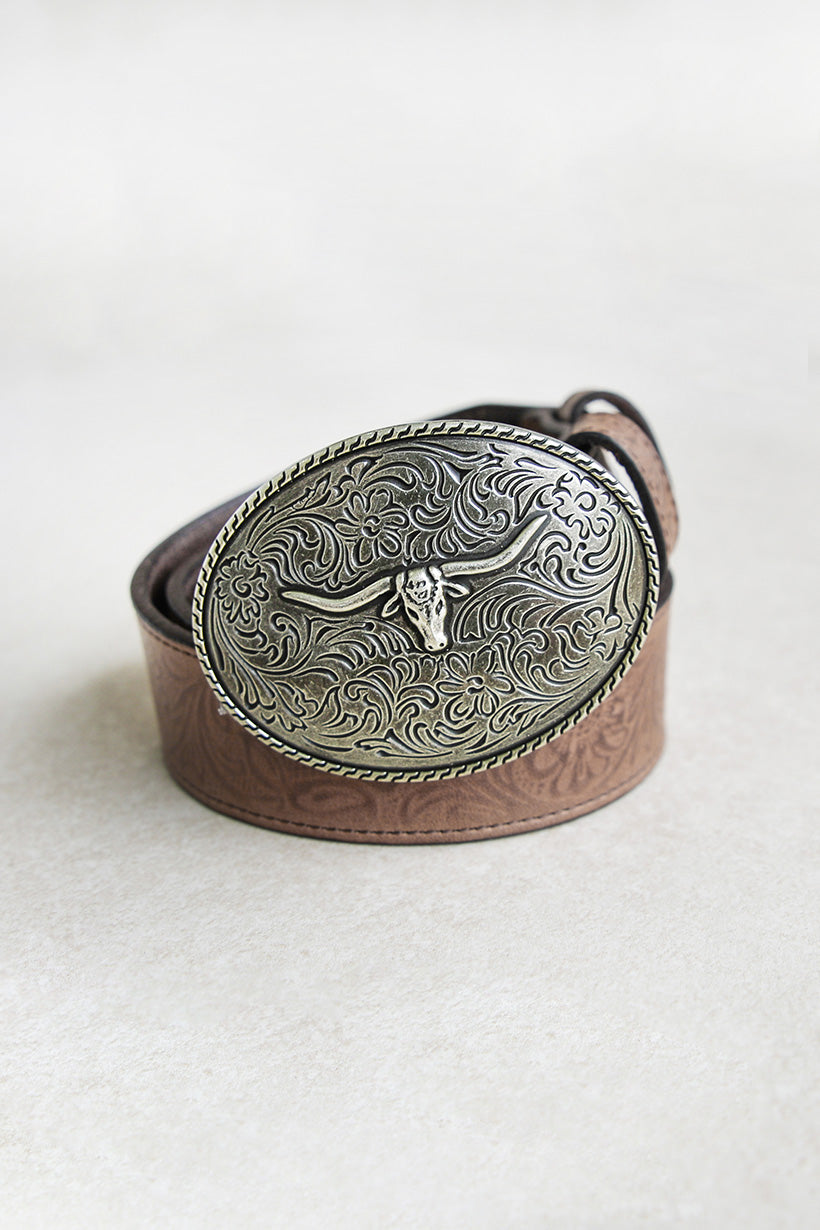 Spell Designs Bull Head Belt