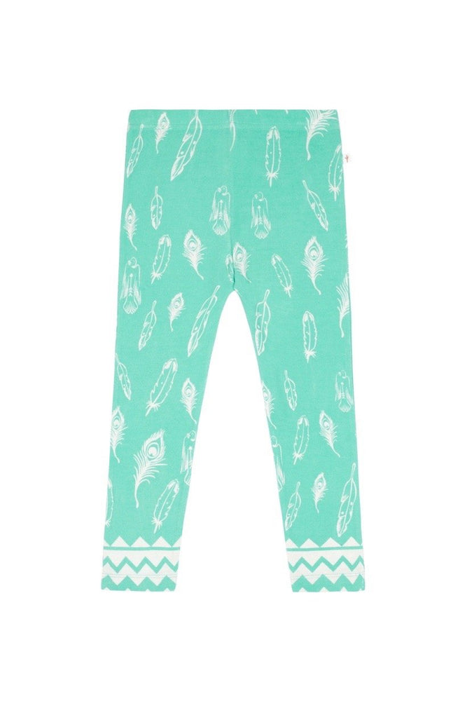 Feather Kids Leggings