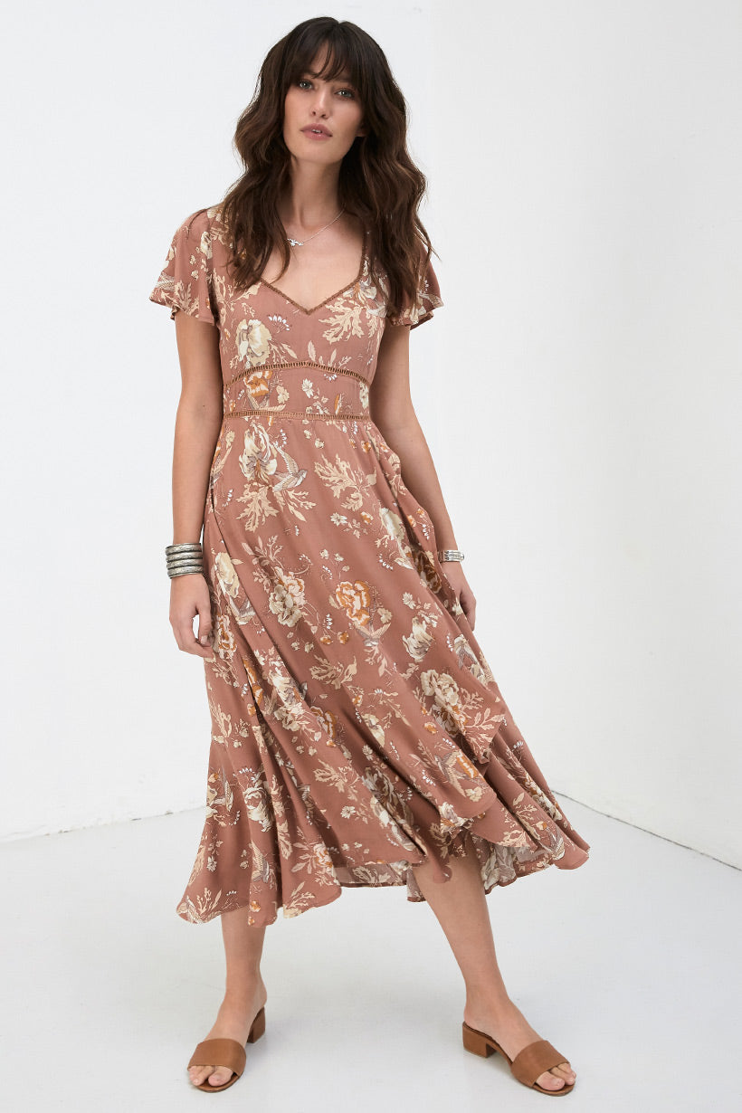 Spell Designs Rosa Garden Party Dress