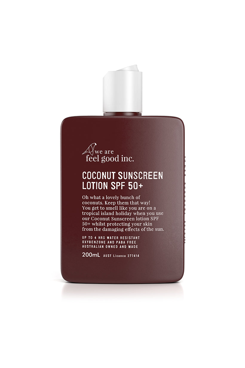 Coconut Sunscreen Lotion SPF 50+ 200ml