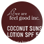 Coconut Sunscreen Lotion SPF 50+ 200ml colour swatch