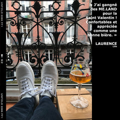 ME.LAND Baskets blanches