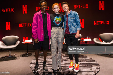 Comicon Sao Paulo Dec 2018 ME.LAND Noah Schnapp SNEAKERS SHOES