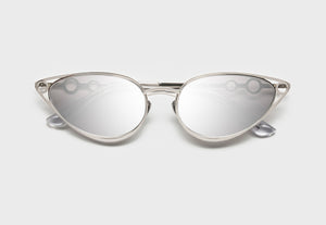 lula pace sunglasses for women metal titanium silver high quality premium luxury eyewear