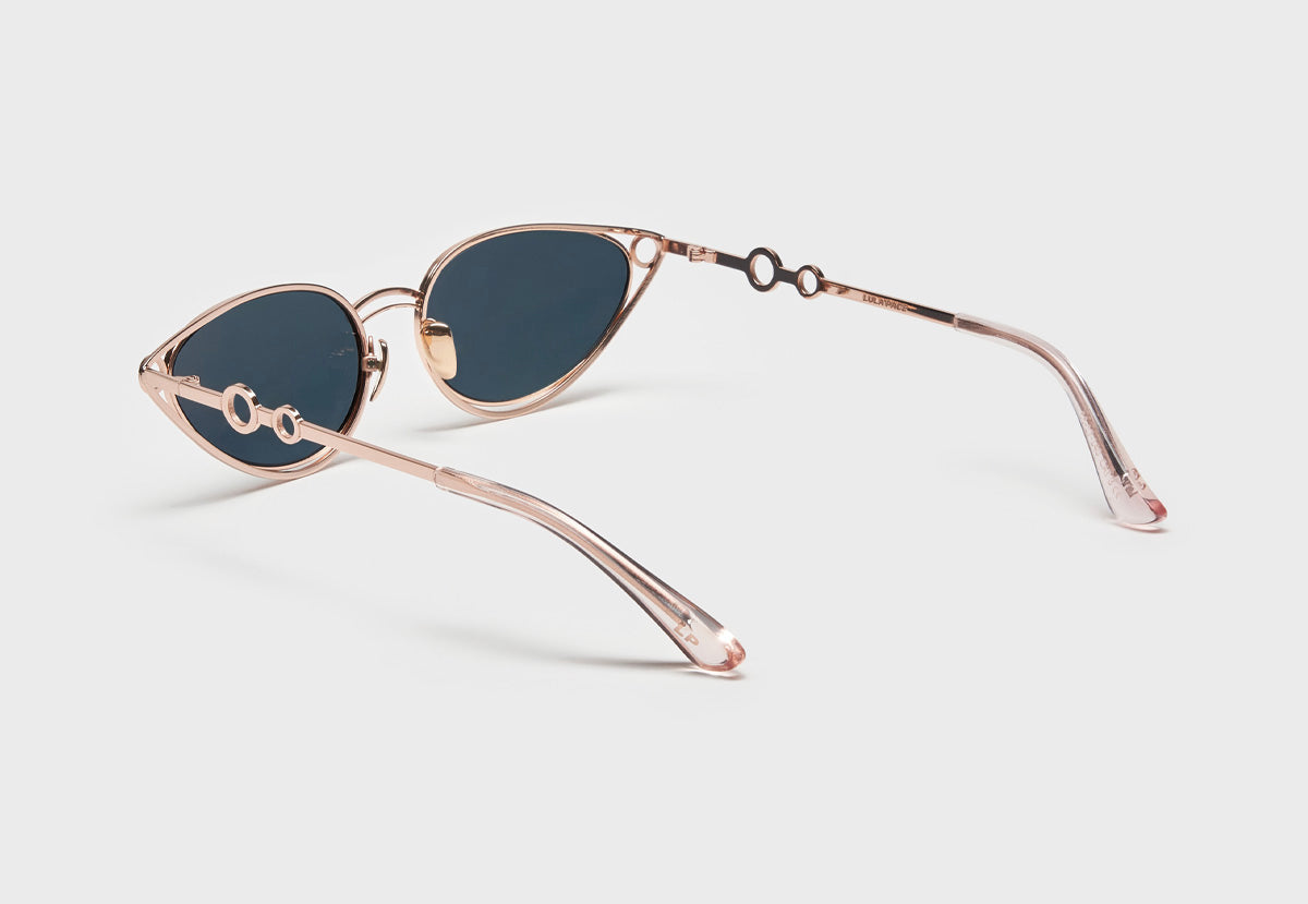 lula pace sunglasses for women metal titanium rose gold high quality premium luxury eyewear