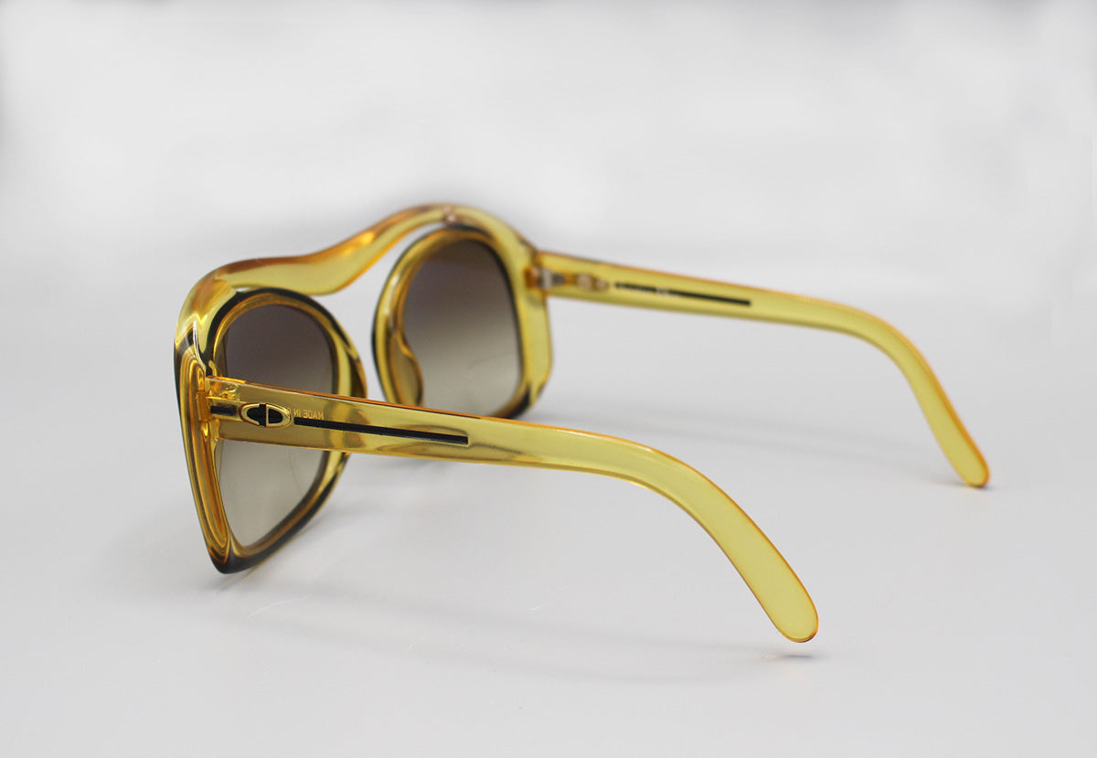 Christian Dior Oversized 70s Sunglasses