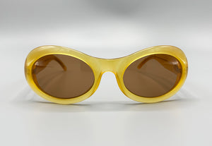 GUCCI Iconic Oval 90s Sunglasses