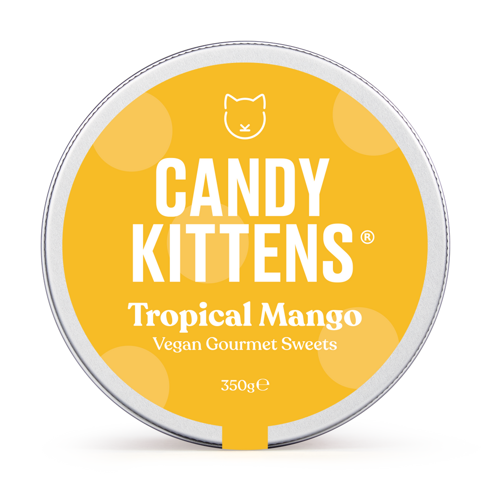 tropical mango candy kittens lid