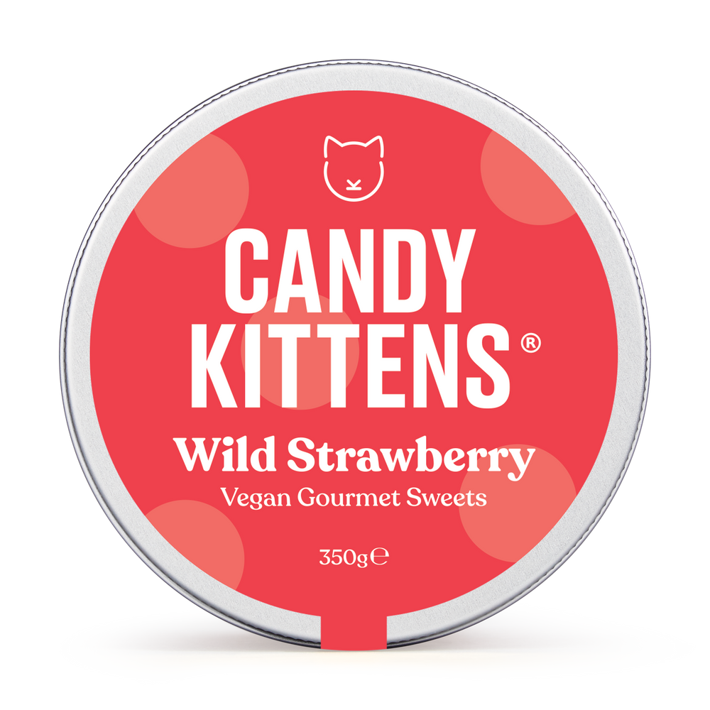 candy kittens wild strawberry lid