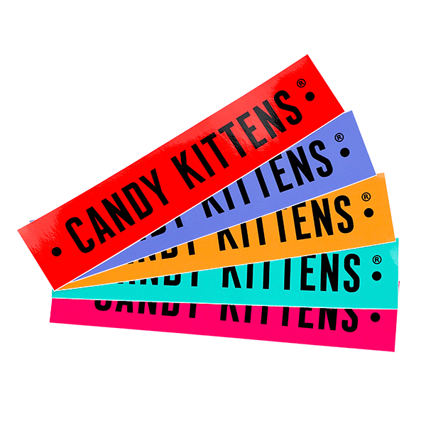 Candy Kittens Stickers