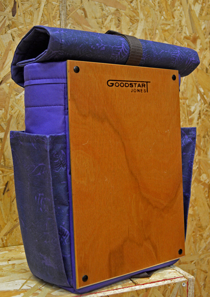 Goodstart Jones woodsack Backpack classic woman designer backpack bags purple custom bag