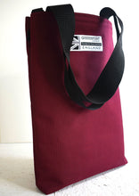 Load image into Gallery viewer, Padded tote bag wine by Goodstart Jones