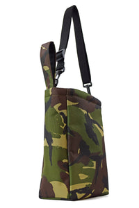 grab bag pouch tote bag camouflage by Goodstart Jones