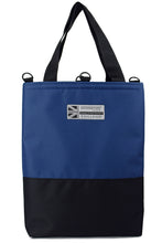 Load image into Gallery viewer, Goodstart Jones Half Blue tote bag
