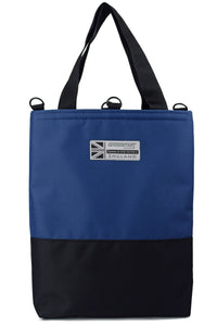 Goodstart Jones Half Blue tote bag
