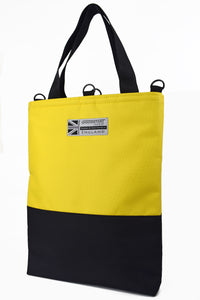 Large yellow tote bag shopper by Goodstart Jones