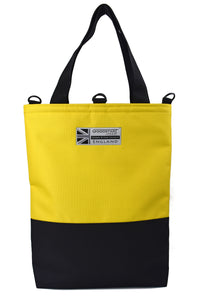 Goodstart Jones yellow summer tote bag shopper Made in England