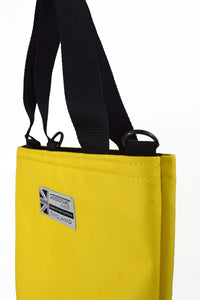 Yellow Tote bag shopper with detachable strap by Goodstart Jones