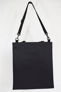 Goodstart Jones black tote and adjustable shoulder strap