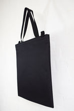 Load image into Gallery viewer, Goodstart Jones Tote Bag side profile Black