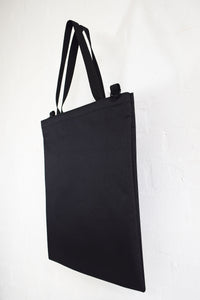 Goodstart Jones Tote Bag side profile Black