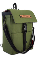 Load image into Gallery viewer, Mini Merchant Backpack | OLIVE GREEN