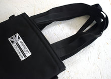 Load image into Gallery viewer, Padded Tote Bag Black by Goodstart Jones