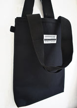 Load image into Gallery viewer, Black Tote Bag shopper by Goodstart Jones