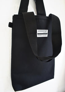 Black Tote Bag shopper by Goodstart Jones