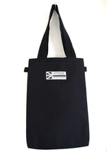 Load image into Gallery viewer, Black Tote Bag Goodstart Jones