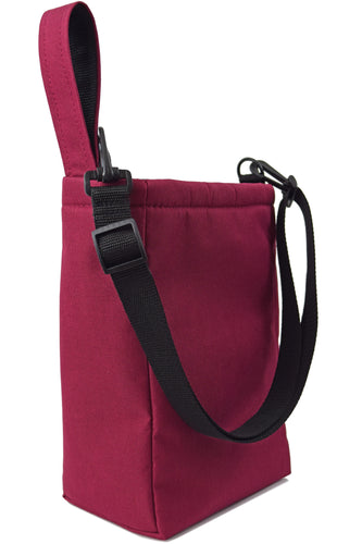 Goodstart Jones Grab Bag Utility Pouch  Burgundy wine color