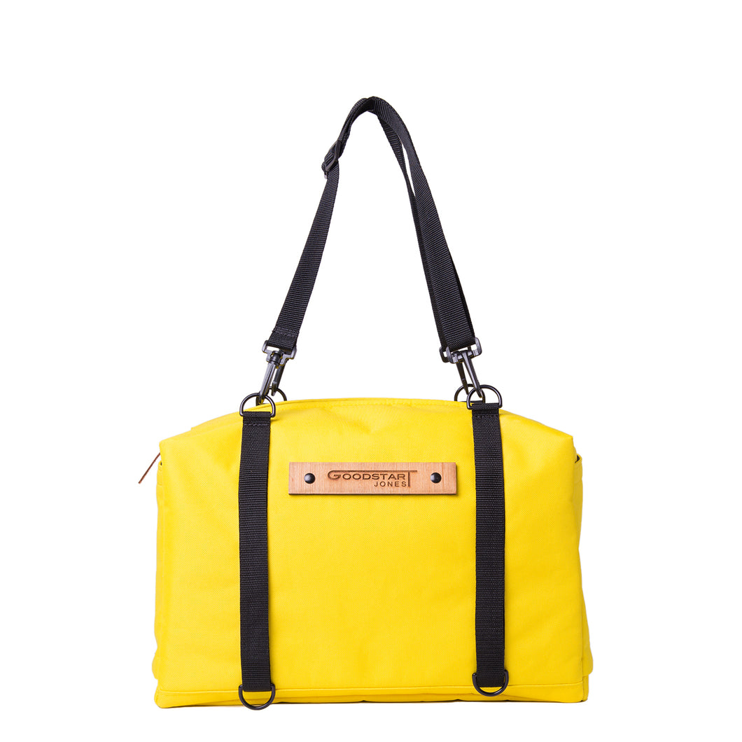 UTILITY DUFFEL BAG | YELLOW
