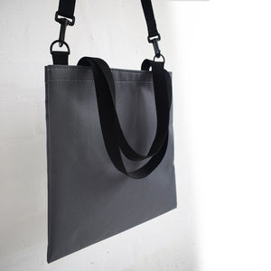 Record Tote Bag | GREY