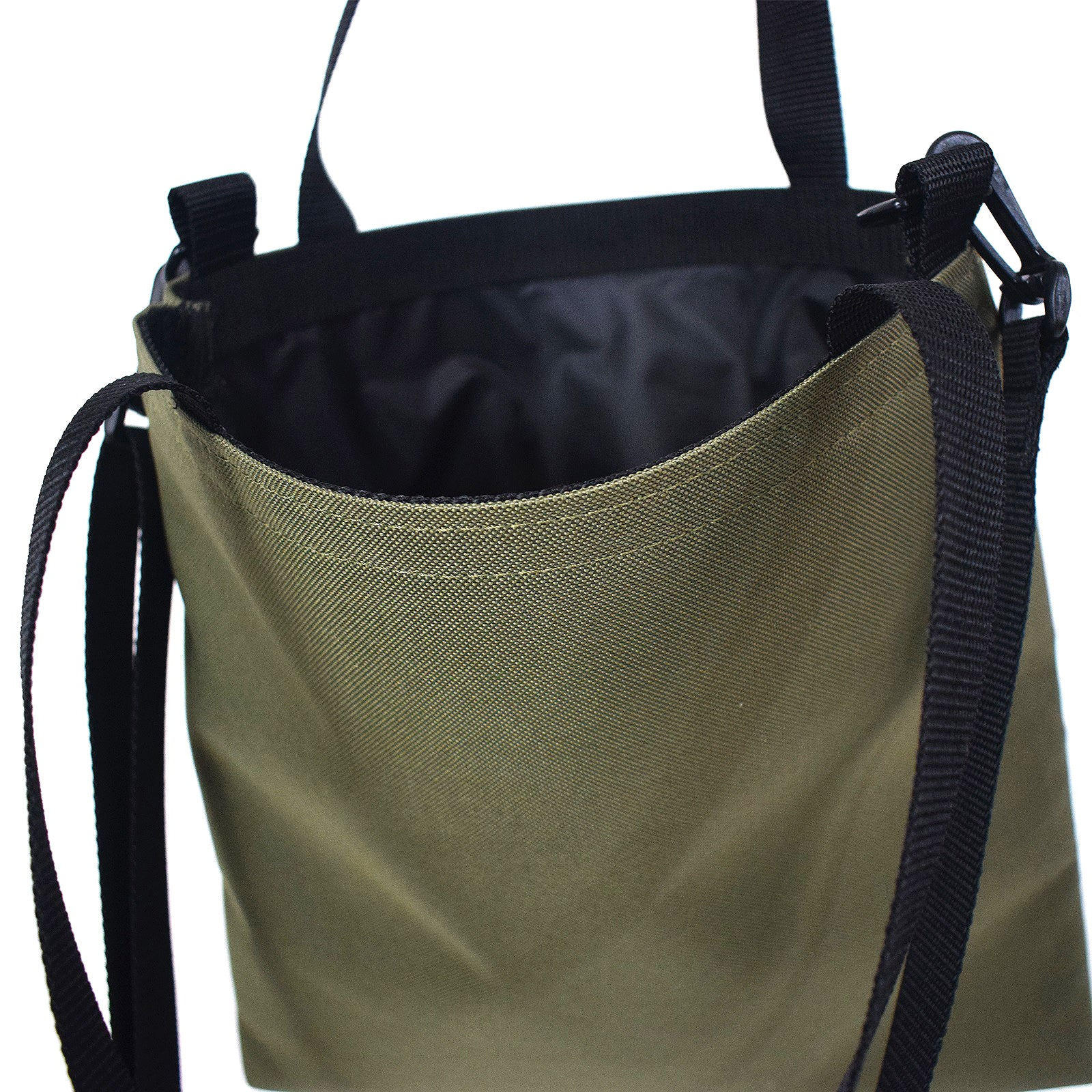 RECORD Tote Bag | OLIVE