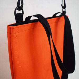 RECORD Tote Bag | ORANGE