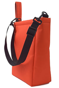 Orange fanny pack tote bag storage by Goodstart Jones