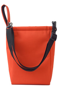 orange utility pouch grab bag by Goodstart Jones