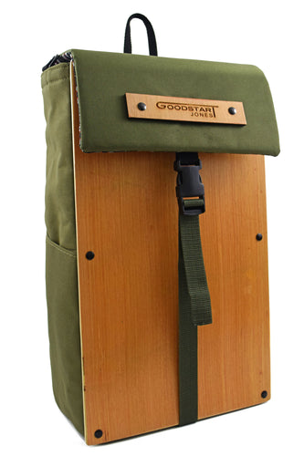 Woodsack Slim Backpack | OLIVE