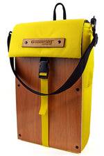 Load image into Gallery viewer, Woodsack Slim Backpack | YELLOW