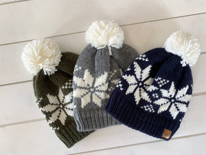 Snowflake Hat (3 colors)