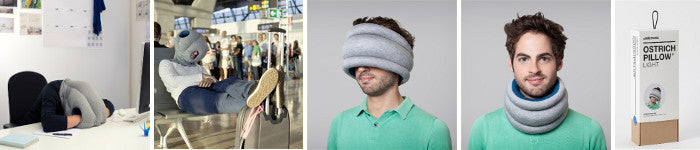 Achat Ostrich Pillow et Ostrich Pillow Light