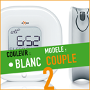 axbo reveil cycle sommeil couple blanc