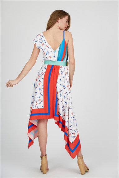 Asymmetric Summer Dress
