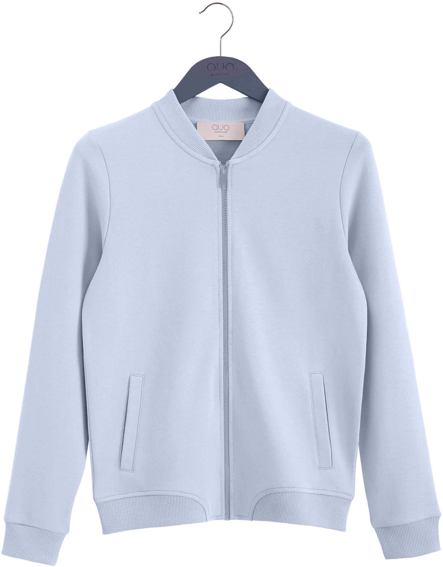 Pure Touché Bomber Sweatshirt - Ice Blue