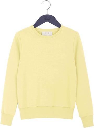 Yellow Plain Sweatshirt
