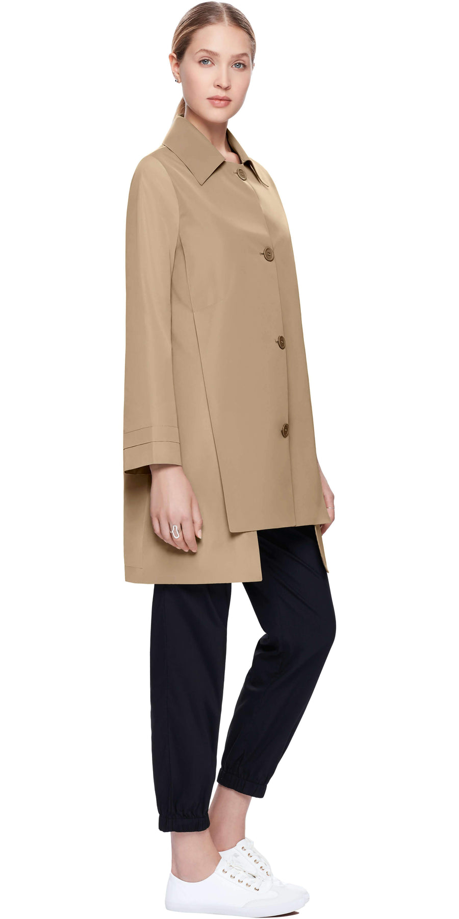 Trench Coat with Slits